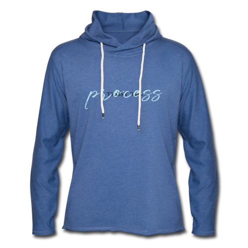 Trust the process - Light Unisex Sweatshirt Hoodie