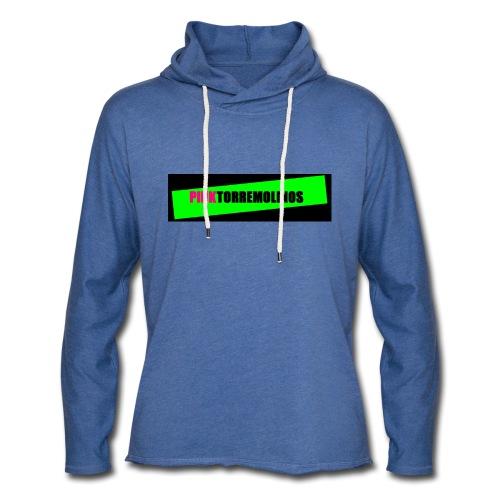 pinklogo - Lichte hoodie unisex