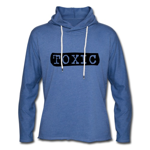 toxisch toxic - Leichtes Kapuzensweatshirt Unisex