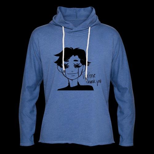 Feeling Vulnerable - Lichte hoodie unisex