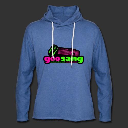 goosang logo - Leichtes Kapuzensweatshirt Unisex