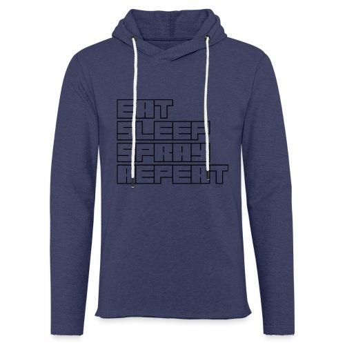 EATSLEEPSPRAYREPEAT - Light Unisex Sweatshirt Hoodie