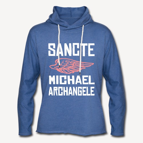 SANCTE MICHAEL ARCHANGELE - Light Unisex Sweatshirt Hoodie
