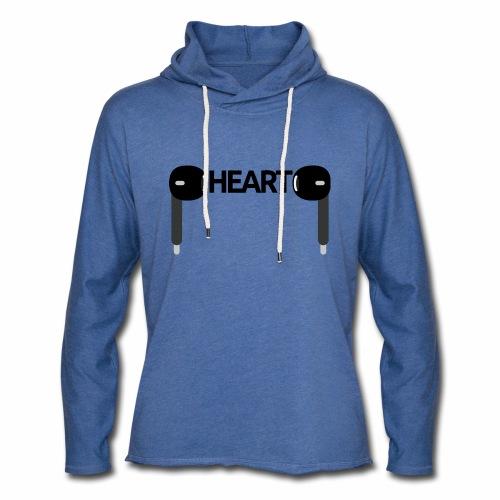 ListenToYourHeart - Lekka bluza z kapturem