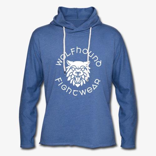 logo round w - Light Unisex Sweatshirt Hoodie