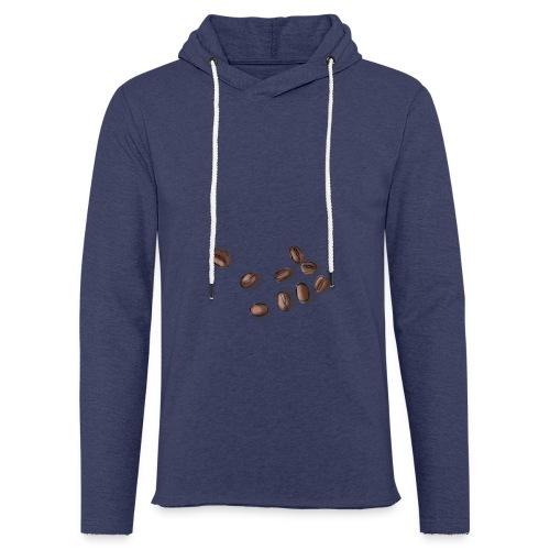 Miłośnik kawy - Ziarna kawy - Lekka bluza z kapturem