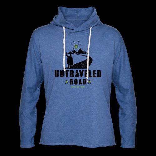 Untraveled Road Logo - black/small - Leichtes Kapuzensweatshirt Unisex