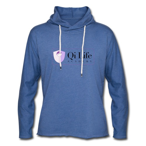 Qi Life Academy Promo Gear - Light Unisex Sweatshirt Hoodie