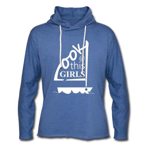 AndriesBik look thisGIRLS shirt witteletters - Lichte hoodie unisex