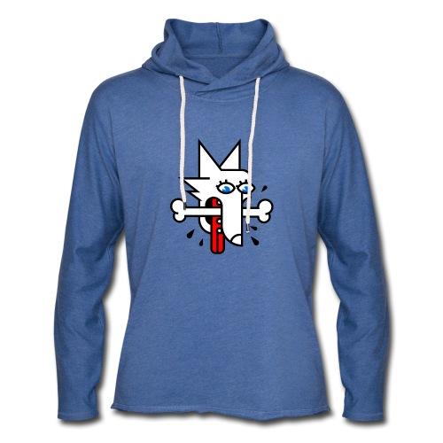 Fox or Hound? - Leichtes Kapuzensweatshirt Unisex