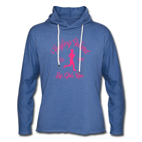 sup girl run - Light Unisex Sweatshirt Hoodie