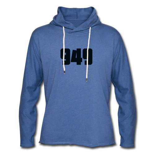 949black - Leichtes Kapuzensweatshirt Unisex