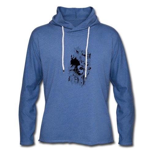 Akasacian tshirt design 611 - Sudadera ligera unisex con capucha
