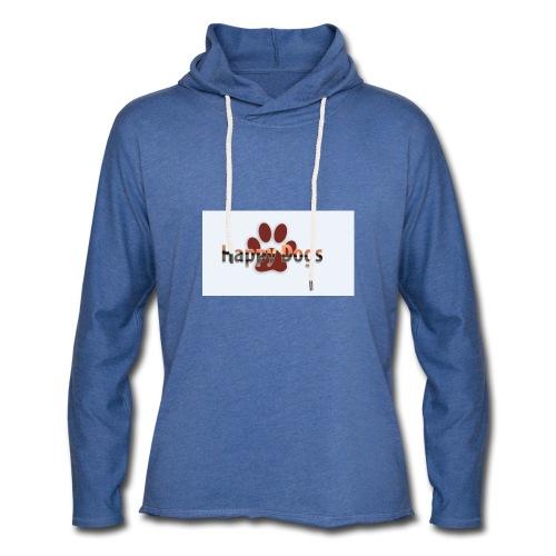Happy dogs - Leichtes Kapuzensweatshirt Unisex