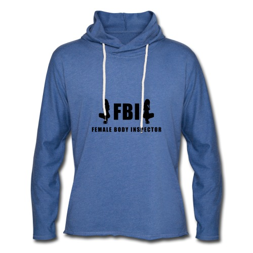 FBI - Leichtes Kapuzensweatshirt Unisex