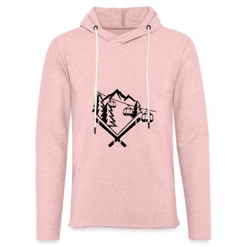 Mountain Gondola - Lichte hoodie unisex