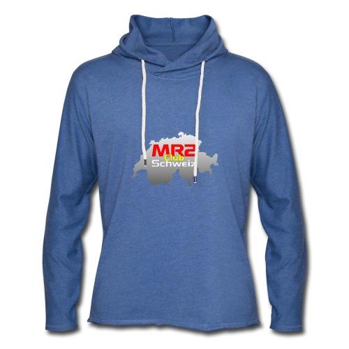 Logo MR2 Club Logo - Leichtes Kapuzensweatshirt Unisex