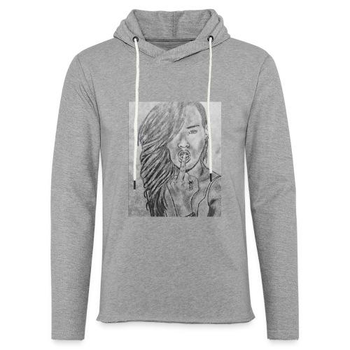 Jyrks_kunstdesign - Let sweatshirt med hætte, unisex