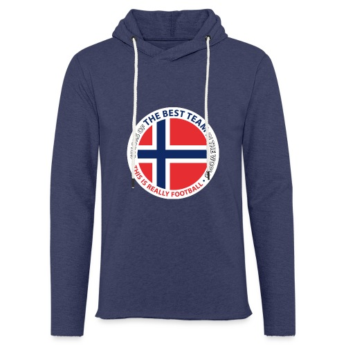 Norway Best Football Team - Light Unisex Sweatshirt Hoodie