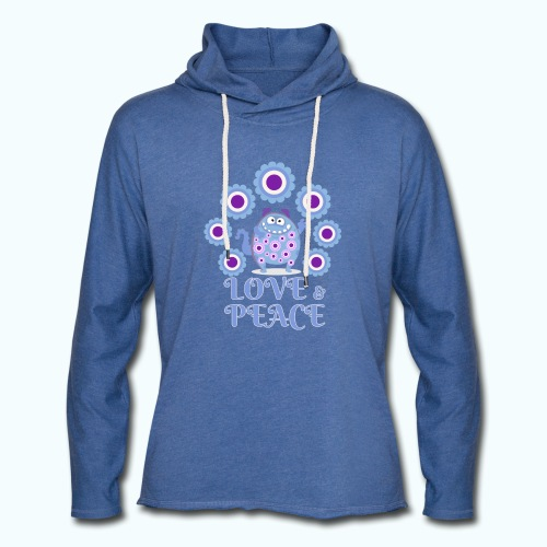 Hippie monster - Light Unisex Sweatshirt Hoodie