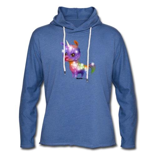 Llamacorn - Lichte hoodie unisex