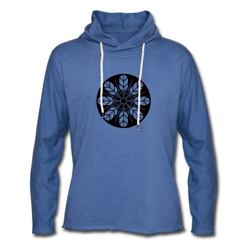 Inoue clan kamon in black - Light Unisex Sweatshirt Hoodie