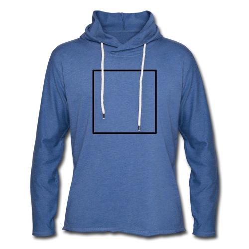 Square t shirt black - Lichte hoodie unisex