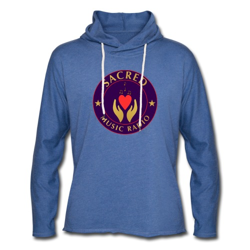 Spread Peace Through Music - Light Unisex Sweatshirt Hoodie