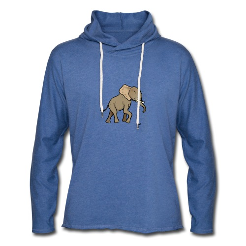 African Elephant - Light Unisex Sweatshirt Hoodie