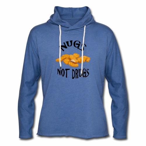 nugsnotdrugs vector - Light Unisex Sweatshirt Hoodie