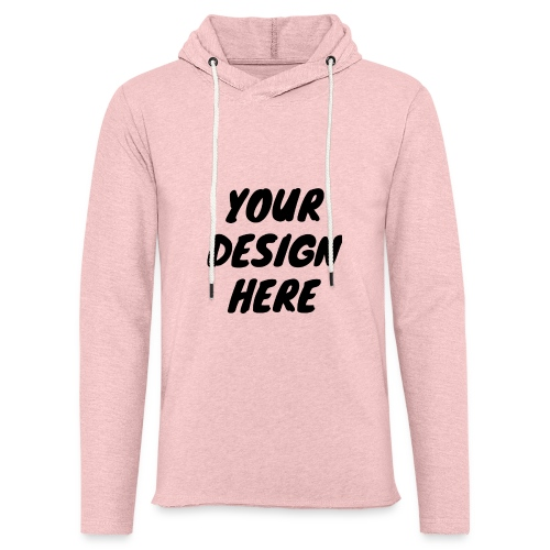 print file front 9 - Light Unisex Sweatshirt Hoodie