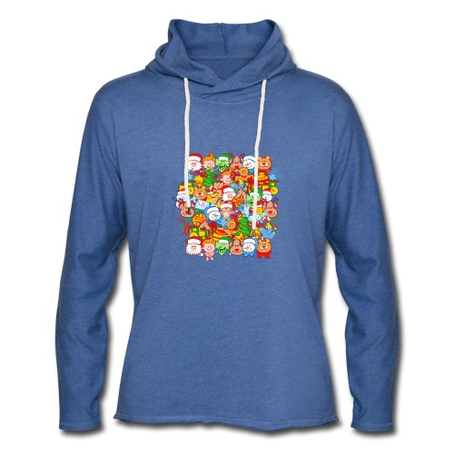 All are ready for Christmas, to celebrate in big! - Light Unisex Sweatshirt Hoodie