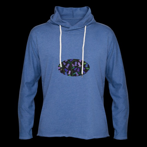 blue bells - Sweat-shirt à capuche léger unisexe