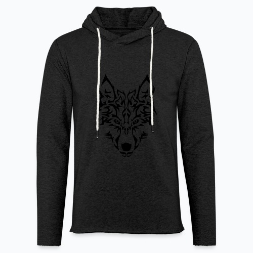 Tribal Wolf - Sweat-shirt à capuche léger unisexe