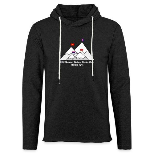 2018 W inter hash logo - Light Unisex Sweatshirt Hoodie