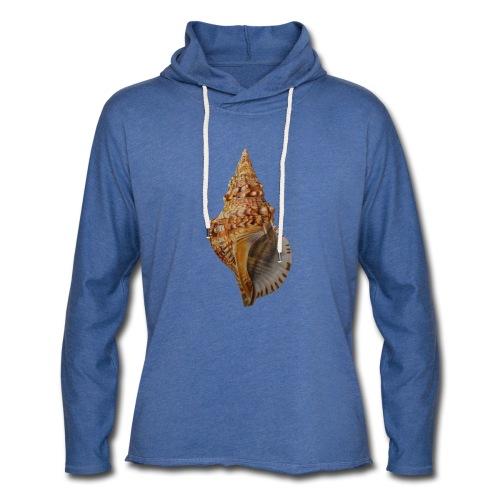 Big Shell - Sweat-shirt à capuche léger unisexe