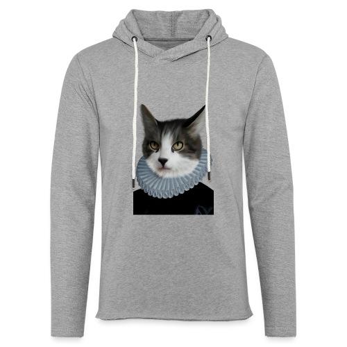 Noble Cat - Leichtes Kapuzensweatshirt Unisex