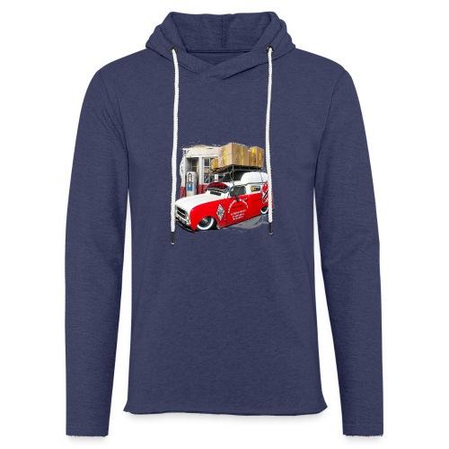 R4 4L F4 vehicules-anciens.fr - Sweat-shirt à capuche léger unisexe