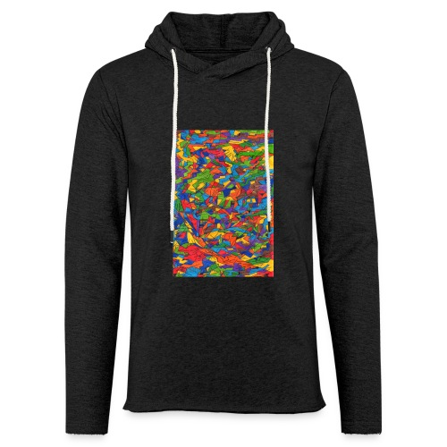 Color_Style - Sudadera ligera unisex con capucha