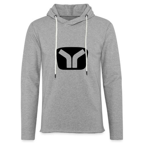 Yugo Logo Black-Transparent Design - Light Unisex Sweatshirt Hoodie