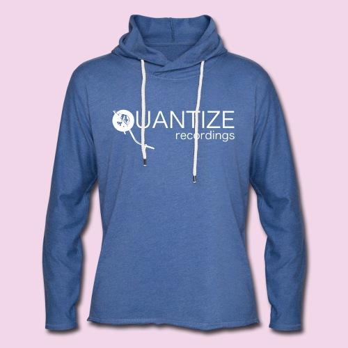 Quantize White Logo - Light Unisex Sweatshirt Hoodie