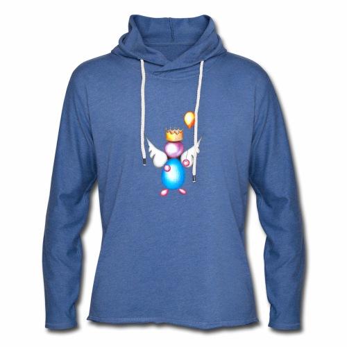 Mettalic Angel geluk - Lichte hoodie unisex