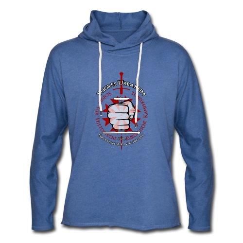Logo frei PUR mitWa trans - Leichtes Kapuzensweatshirt Unisex