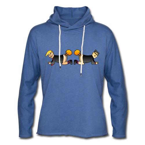 Trump Kim Logo - Sweat-shirt à capuche léger unisexe