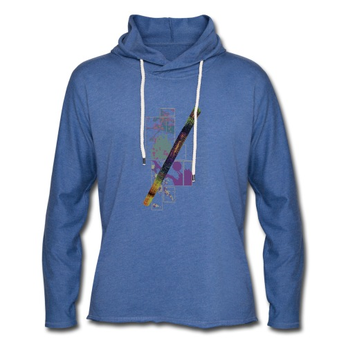 Circuito Trance music jade - Light Unisex Sweatshirt Hoodie