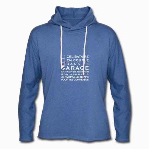 Celibataire en couple etc - Sweat-shirt à capuche léger unisexe