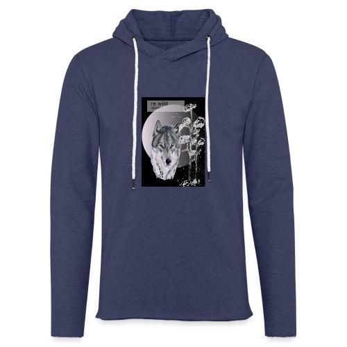 Re wild britain tee shirt - Light Unisex Sweatshirt Hoodie