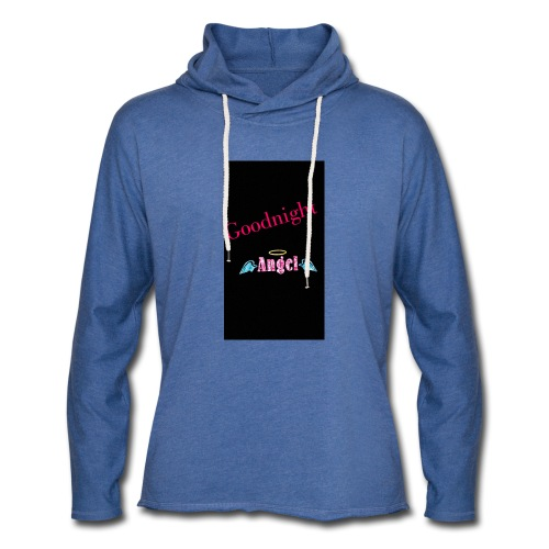 goodnight Angel Snapchat - Light Unisex Sweatshirt Hoodie