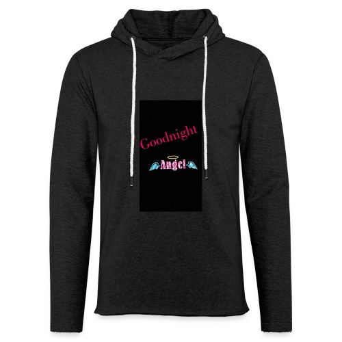 goodnight Angel Snapchat - Light Unisex Sweatshirt Hoodie
