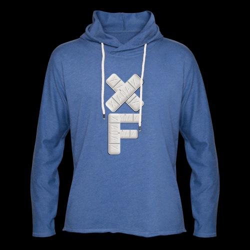 XF Xanax Logo - Leichtes Kapuzensweatshirt Unisex